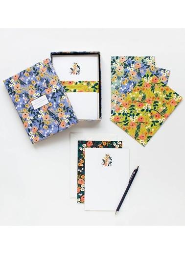Violet Floral Tebrik Kartı&Zarf Seti-Rifle Paper Co.